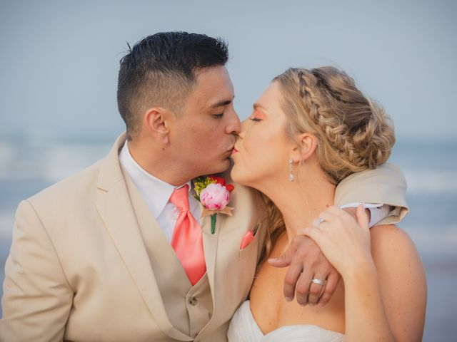 Whitney and Juan's Wedding in South Padre Island, Texas 16
