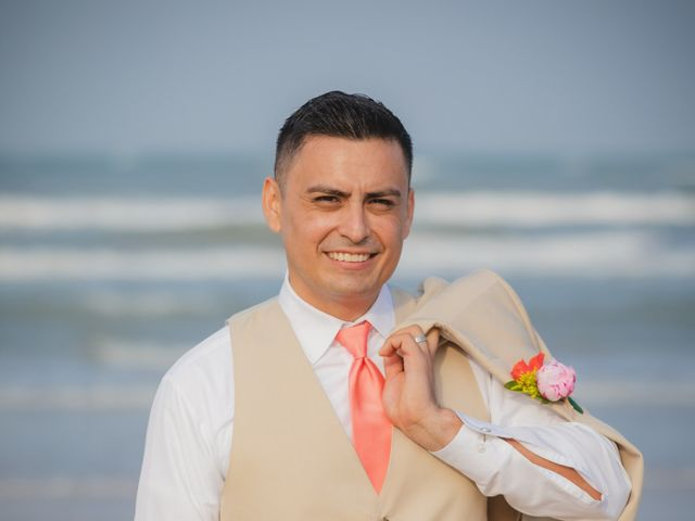 Whitney and Juan's Wedding in South Padre Island, Texas 17