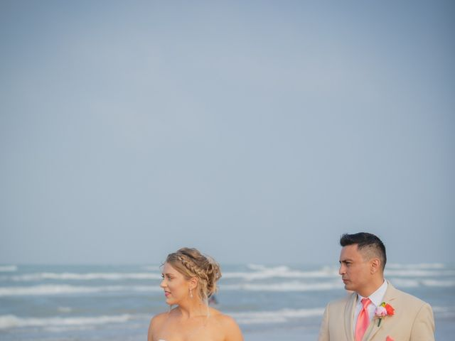 Whitney and Juan's Wedding in South Padre Island, Texas 18