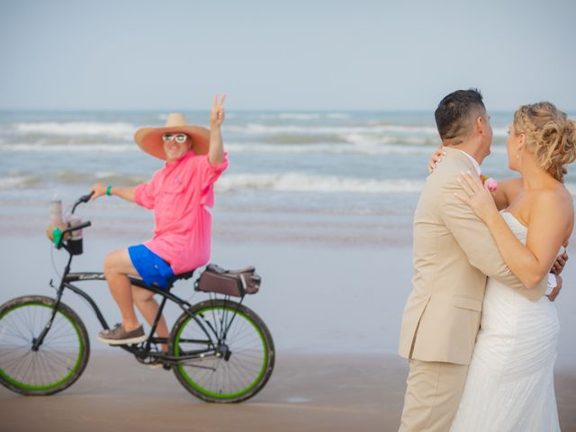 Whitney and Juan's Wedding in South Padre Island, Texas 19