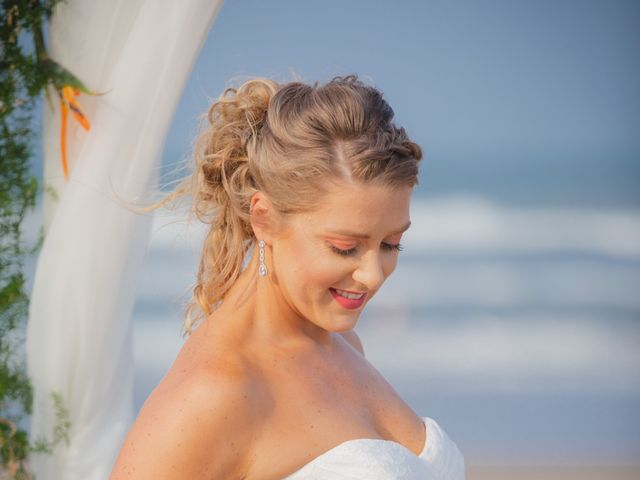 Whitney and Juan's Wedding in South Padre Island, Texas 23