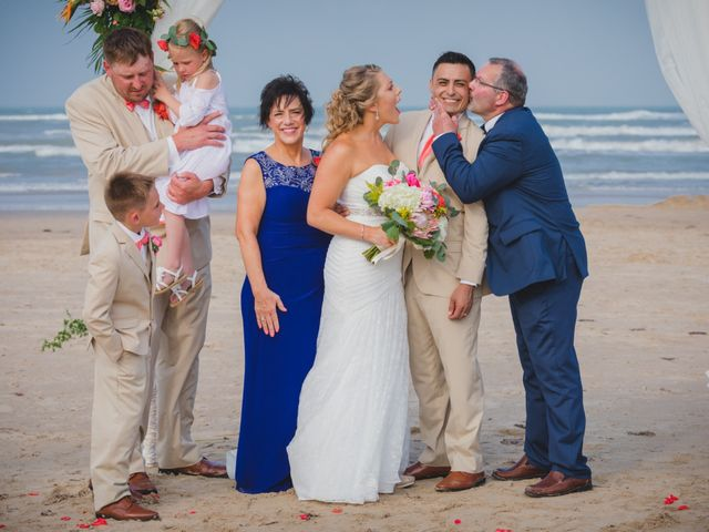 Whitney and Juan's Wedding in South Padre Island, Texas 26
