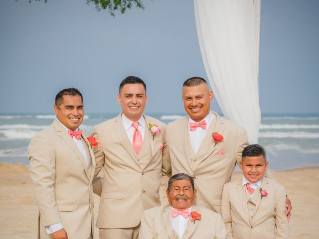 Whitney and Juan's Wedding in South Padre Island, Texas 28
