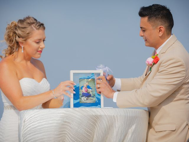 Whitney and Juan's Wedding in South Padre Island, Texas 31