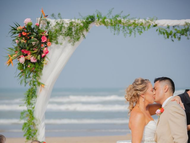 Whitney and Juan's Wedding in South Padre Island, Texas 32