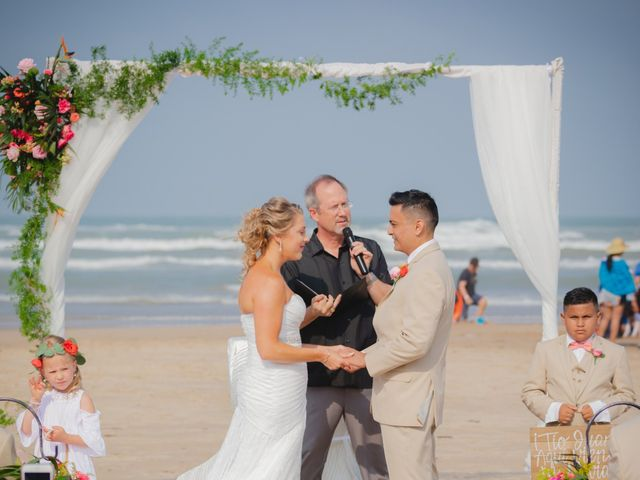 Whitney and Juan's Wedding in South Padre Island, Texas 33