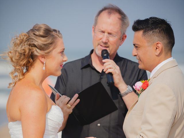 Whitney and Juan's Wedding in South Padre Island, Texas 34