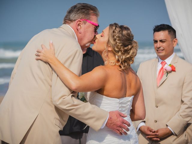 Whitney and Juan's Wedding in South Padre Island, Texas 36
