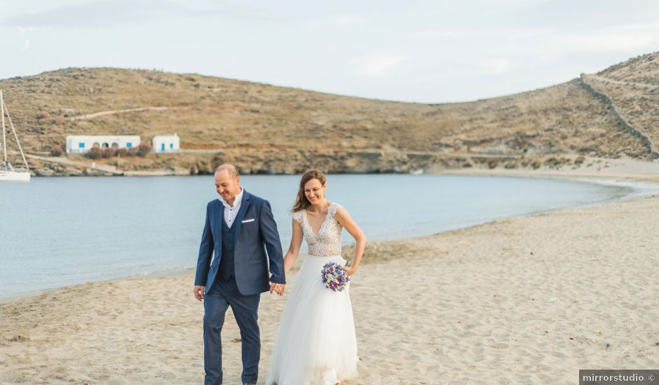 Stavros and Sissi's Wedding in Mykonos, Greece
