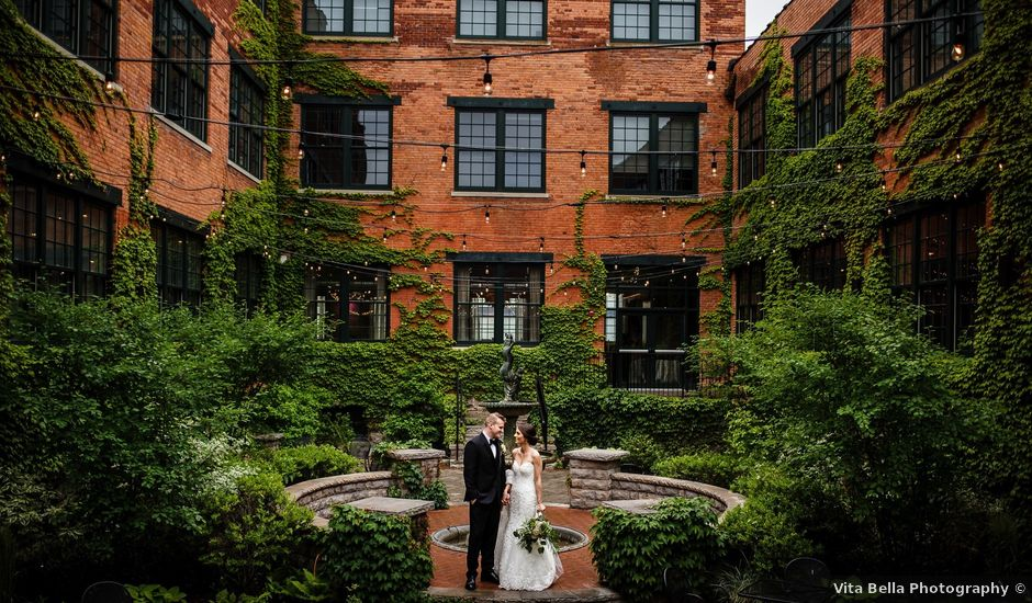 Wes and Katherine's Wedding in Buffalo, New York