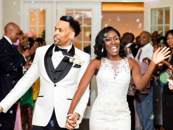 The wedding of Tiffany and Lamont