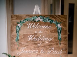 The wedding of Jessica and Paul 1