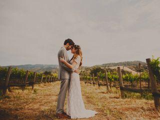 The wedding of Dawn and Alex