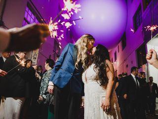 The wedding of Leslie and Christina 1