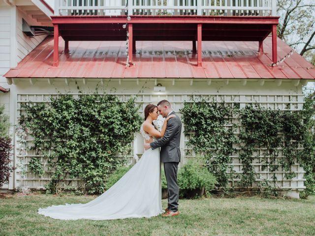 The wedding of Regan and Casey