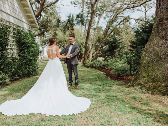 Casey and Regan's Wedding in Tybee Island, Georgia 14