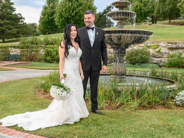 Jesse and Deisi's Wedding in Ridgedale, Missouri 11