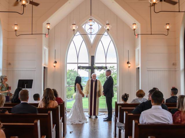 Jesse and Deisi's Wedding in Ridgedale, Missouri 17