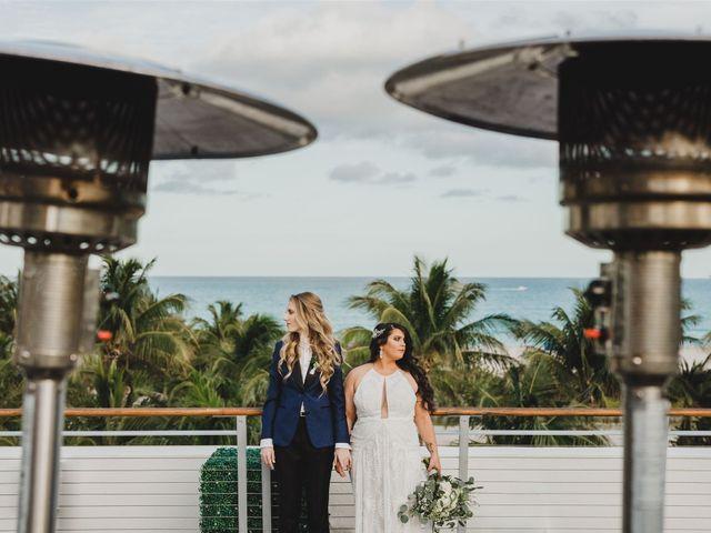 The wedding of Leslie and Christina