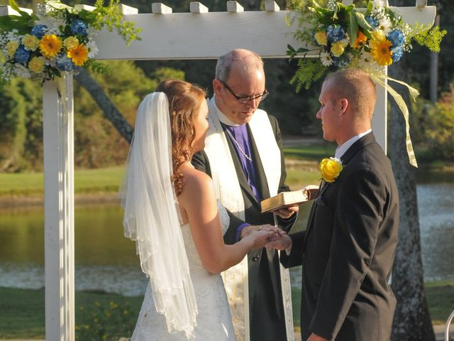 Marion and Brendan's Wedding in Pawleys Island, South Carolina 15