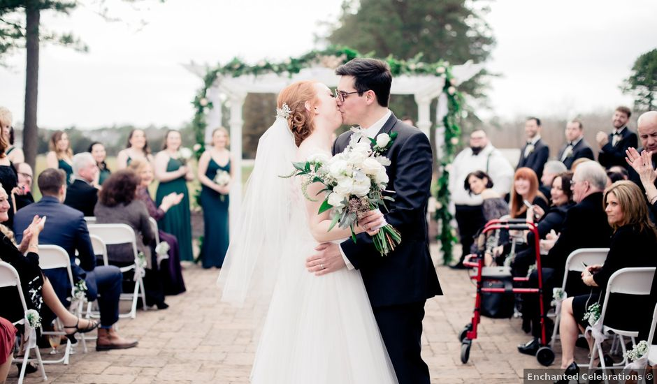 Paul and Jessica's Wedding in Egg Harbor City, New Jersey