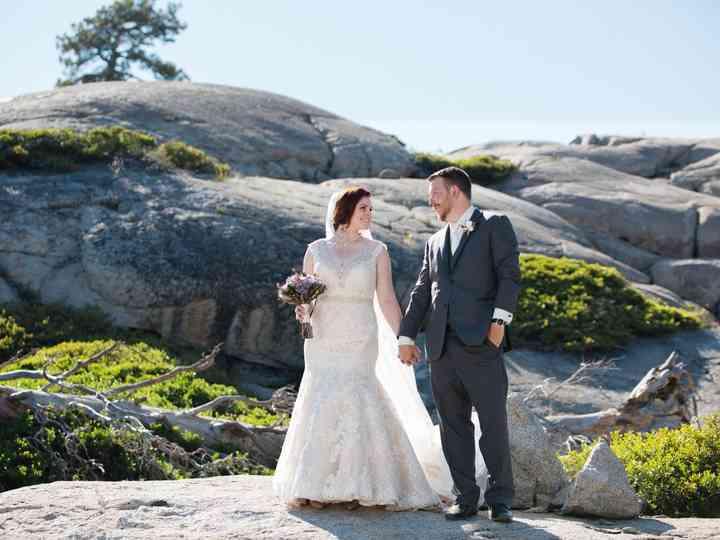 The wedding of Katie and Matt