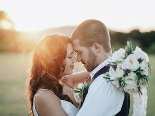 The wedding of Toni and Chris