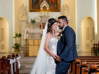 The wedding of Rosalia and Stefano