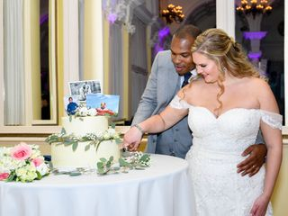 The wedding of Hannah and Derrick 2