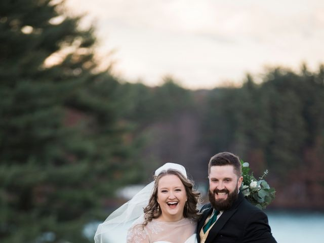 The wedding of Paige and Chris