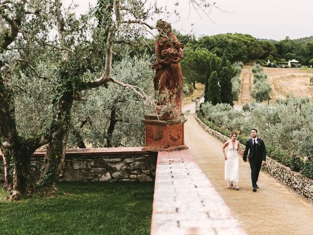 Andrea and Alexis's Wedding in Tuscany, Italy 14