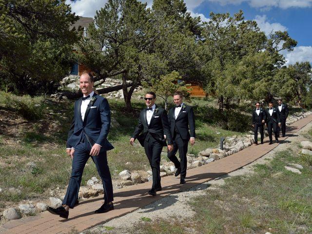 Ashante and David's Wedding in Buena Vista, Colorado 11