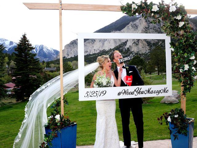 Ashante and David's Wedding in Buena Vista, Colorado 2