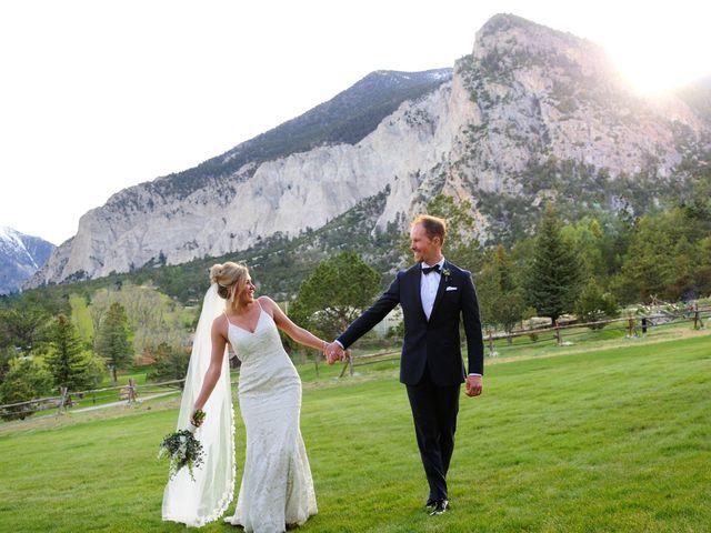 Ashante and David's Wedding in Buena Vista, Colorado 5