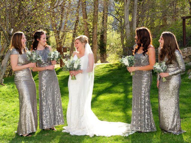 Ashante and David's Wedding in Buena Vista, Colorado 8