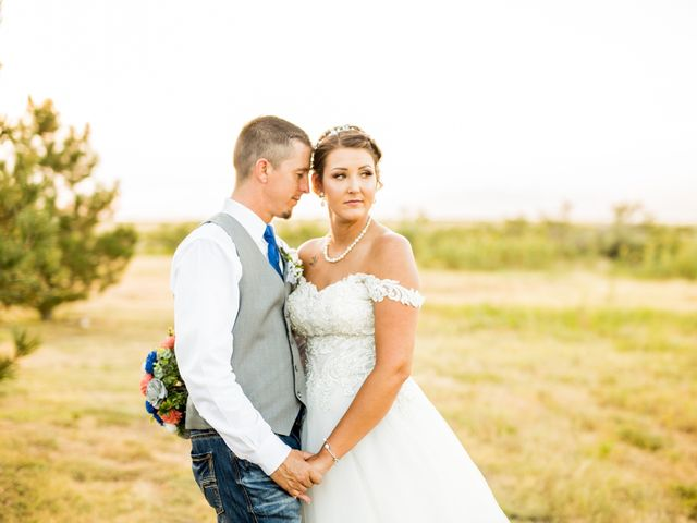 The wedding of Brittany and Cody