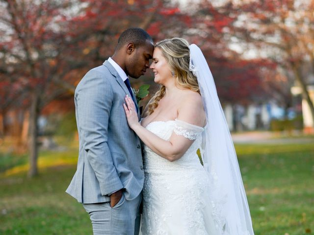 The wedding of Hannah and Derrick