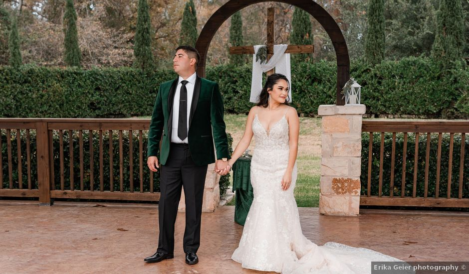 Justin and Mary's Wedding in Brookshire, Texas