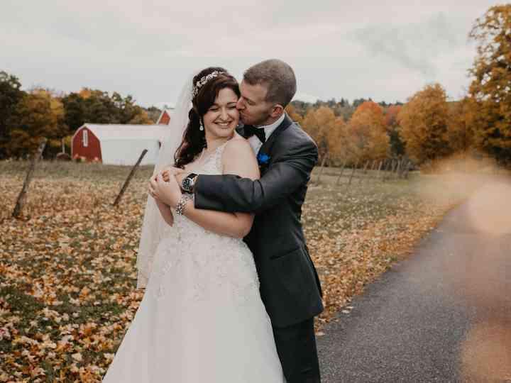 The wedding of Miranda and Zac