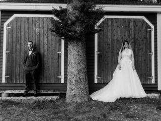 The wedding of Miranda and Zac 1