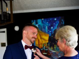 The wedding of Lisa and Danny 1