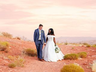 The wedding of Georgette and Brigham 1