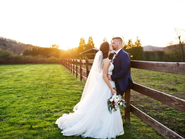 The wedding of Lisa and Danny