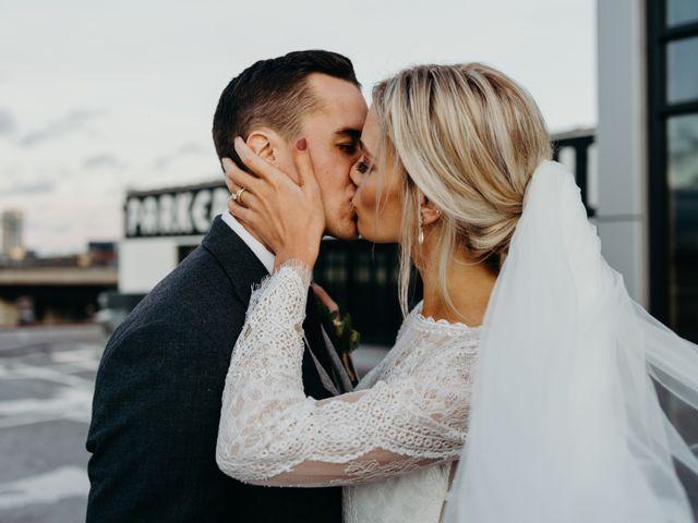 The wedding of Elizabeth and Tim
