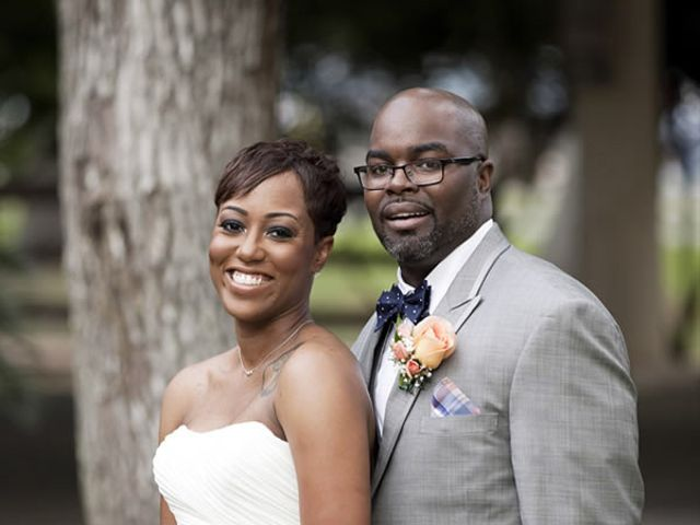 The wedding of Tyrone and Breonna