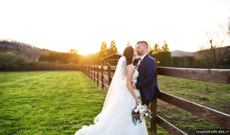 Danny and Lisa's Wedding in Asheville, North Carolina