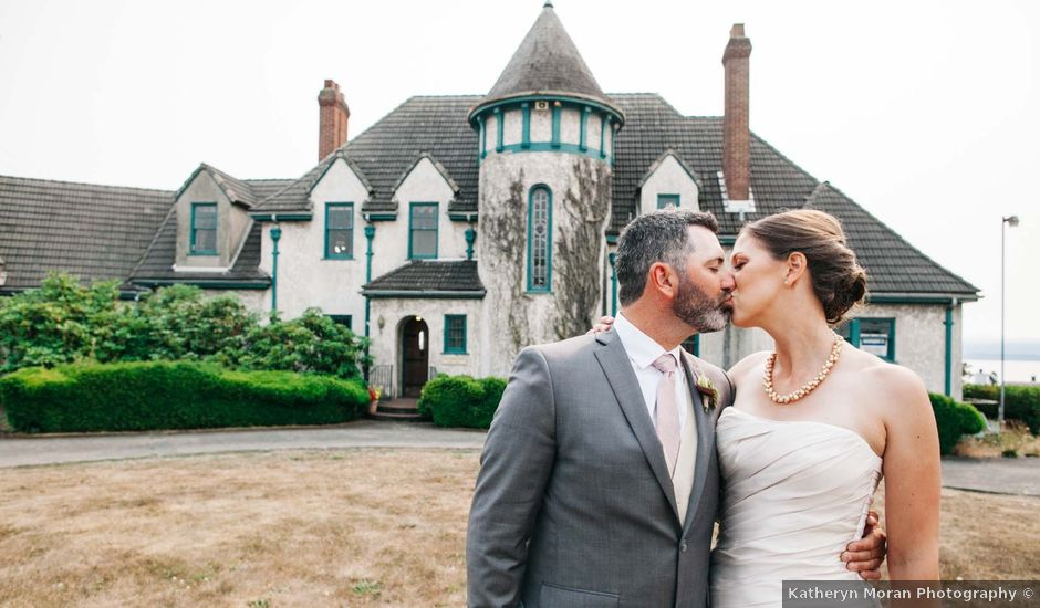 Cory and Chad's Wedding in Bellingham, Washington