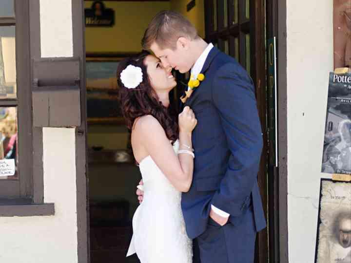 The wedding of Brandon and Stephanie