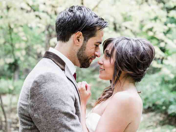 The wedding of Jesse and Gina