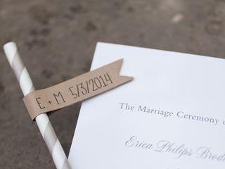 Erica and Michael's wedding in California 7